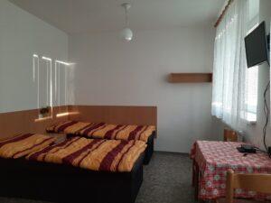 Ubytování - 3 lůžka